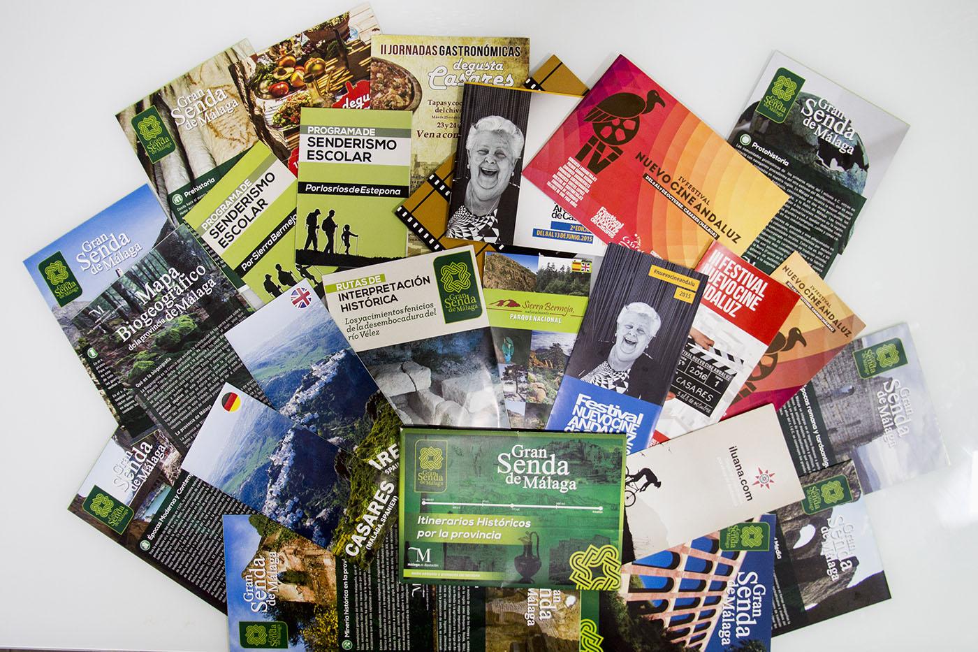 Diseño de folletos divulgativos