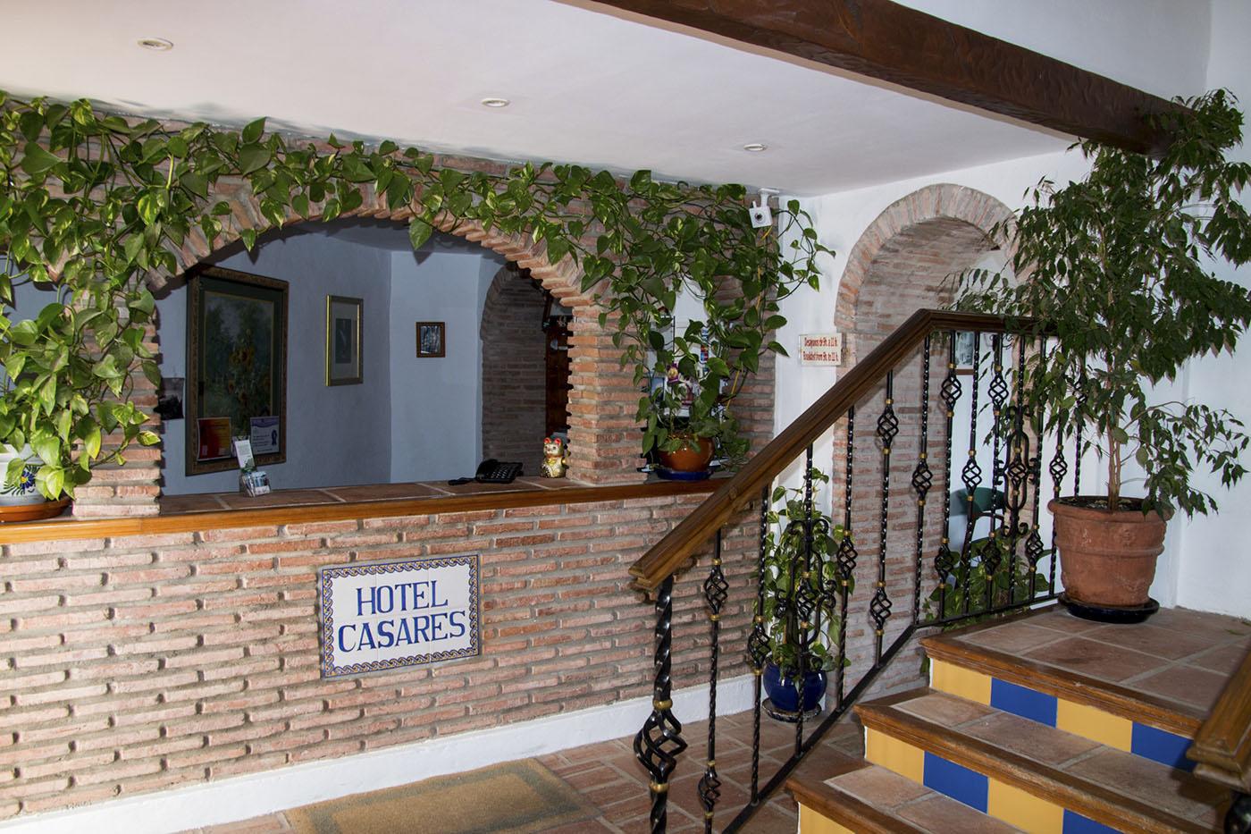Hotel Rural Casares - Recepción