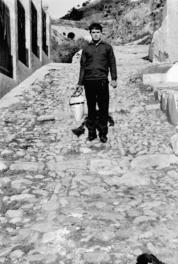 Las Piletas, década de 1960 (Fotografía: Hermanos Cordero)