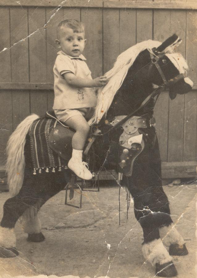 Clásica fotografía de feria de 'Foto Pablo', 60 años de fotografía en Casares (Fotografía: Archivo de Benito Trujillano Mena)