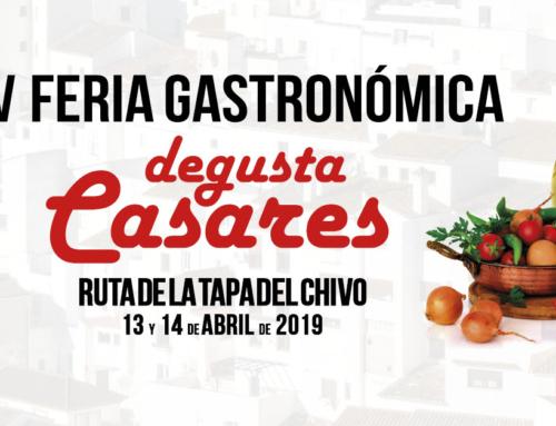"""V Feria gastronómica """"Degusta Casares"""""""