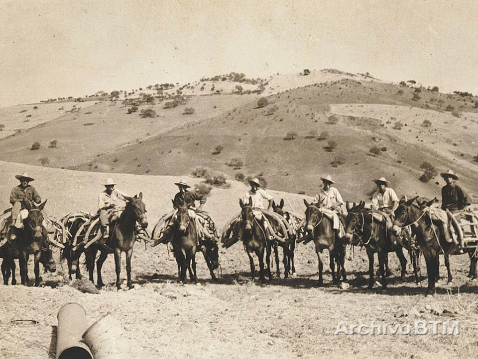 Arrieros (Archivo Benito Trujillano Mena)