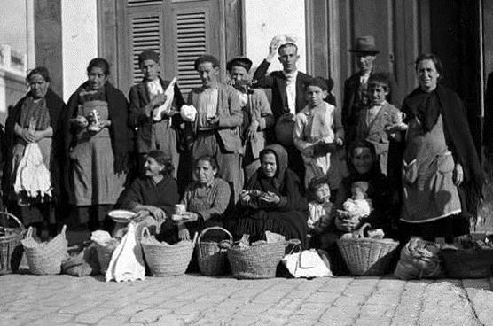 Matuteras en La Línea de la Concepción (1934)