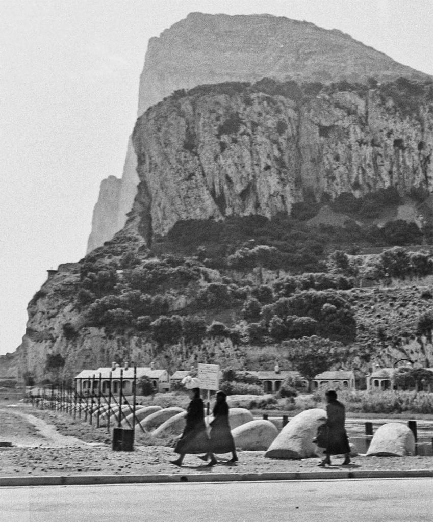 Matuteras en Gibraltar (Año 1948)