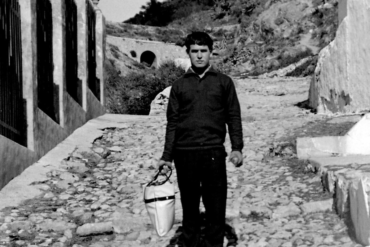 Calle Piletas, Casares, años 60 (Fotografía: Hnos. Cordero)