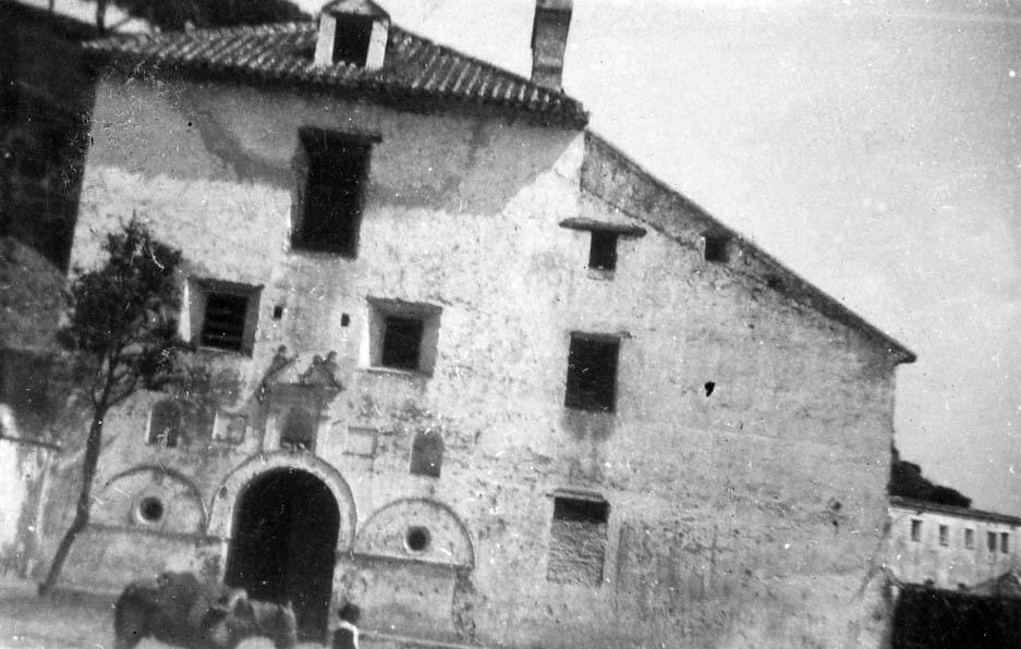 Convento de capuchinos de Casares (Fotografía: Joaquín Atencia, 1934)