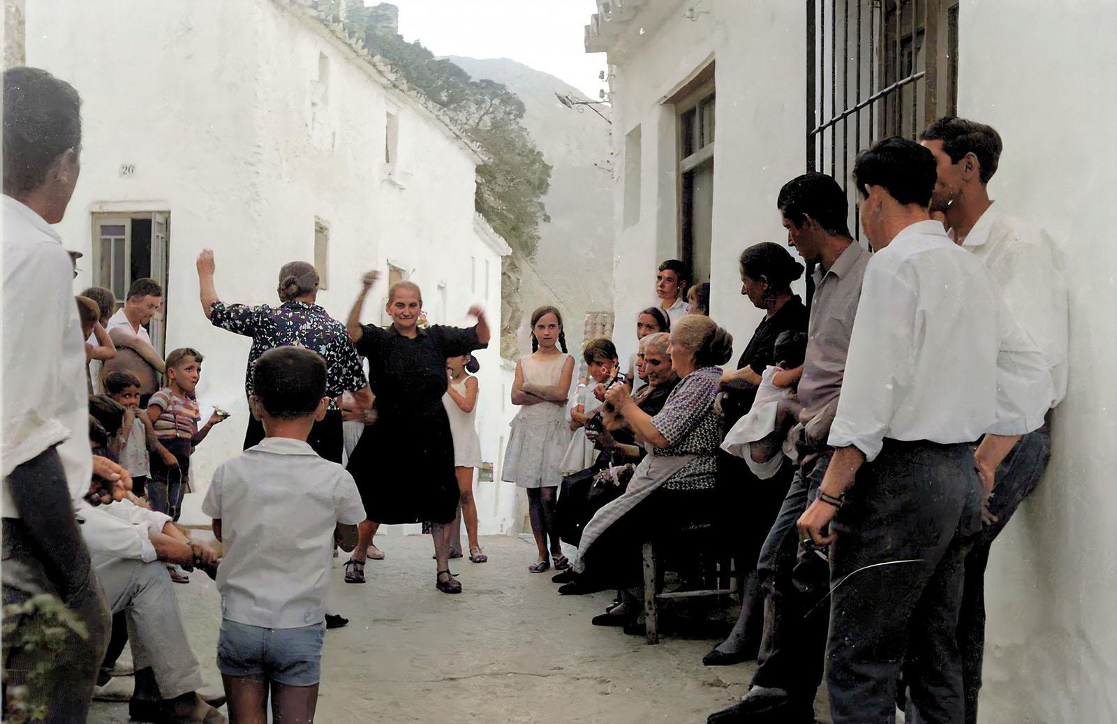 Fotografía: Baile de fandango casareño (Archivo Franchesca Ledesma Lazo)
