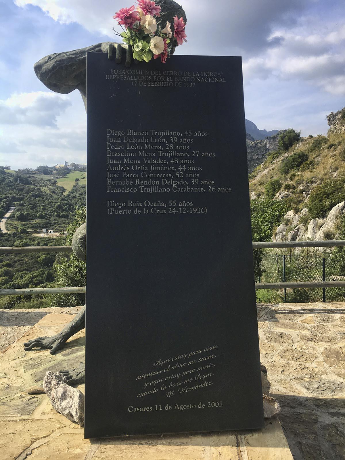 Fosa común Cerro de la Horca (Casares)