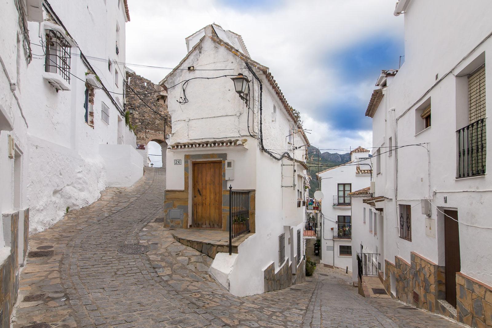 Casares. Arquitectura andalusí.