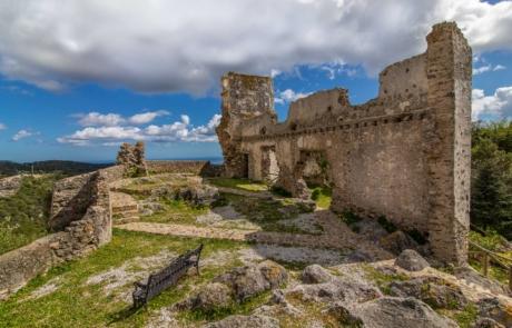 Castillo de Casares. Refortificación siglo XIX