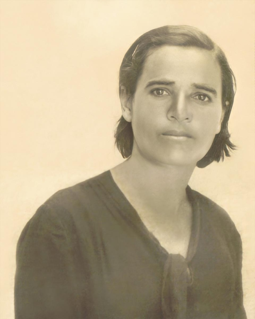 María Jiménez Sánchez (Casares, principios del siglo XX)