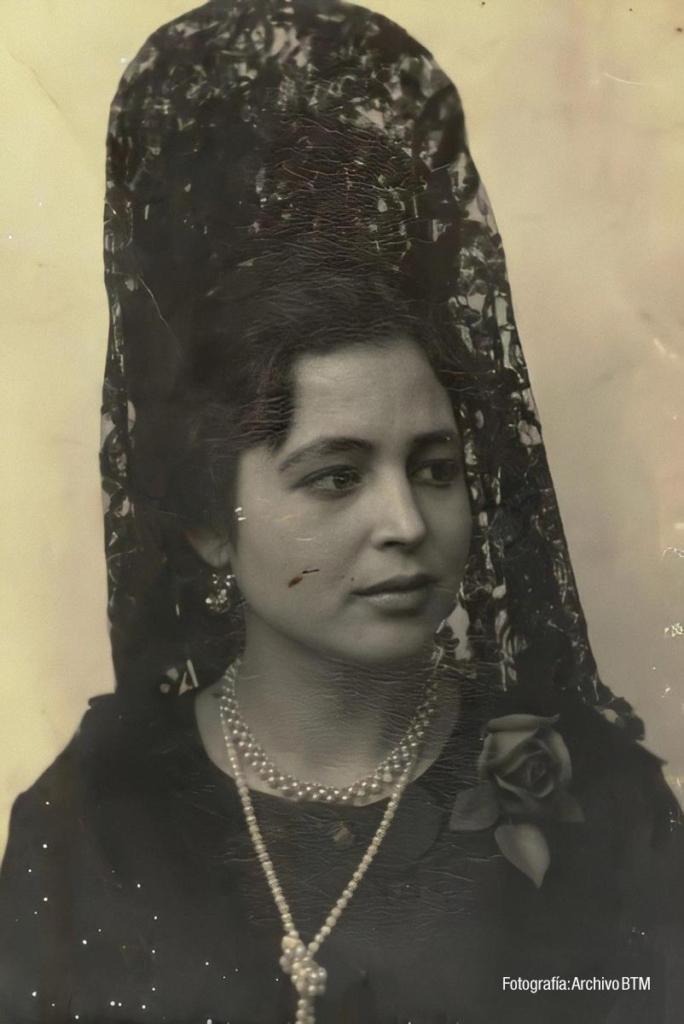 Foto de estudio de principios del siglo XX